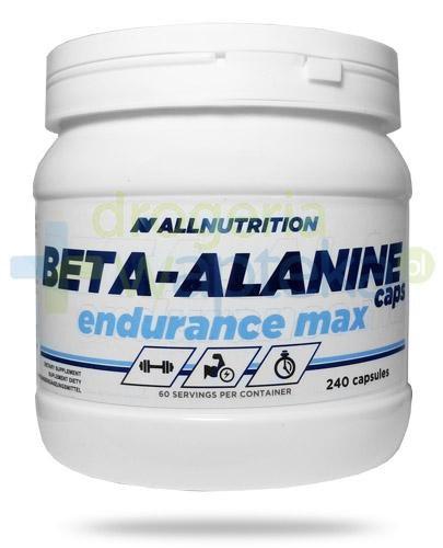 Allnutrition Beta-Alanine Caps Endurance Max 240 kapsułek [DARMOWA DOSTAWA]