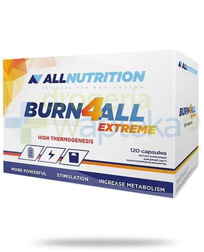 Allnutrition Burn4all Extreme 120 kapsułek [spalacz tłuszczu]