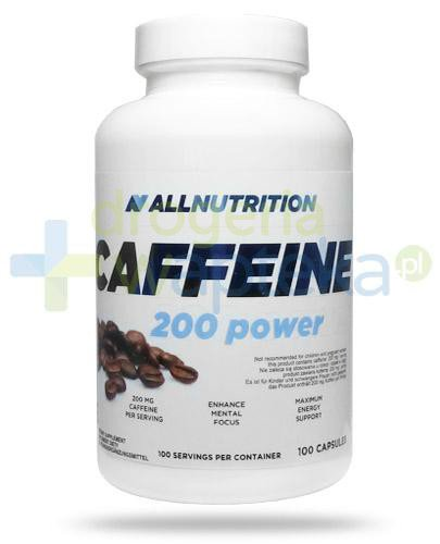 Allnutrition Caffeine 200 Power 100 kapsułek