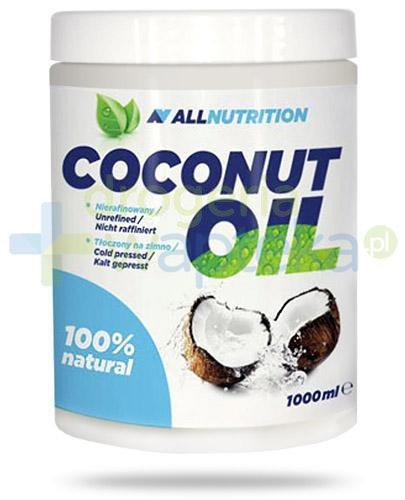 Allnutrition Coconut Oil olej kokosowy nierafinowany 1000 ml  [Data ważności 30-09-2020]