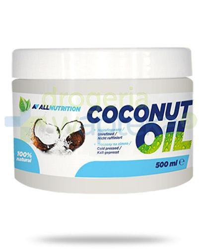Allnutrition Coconut Oil olej kokosowy nierafinowany 500 ml