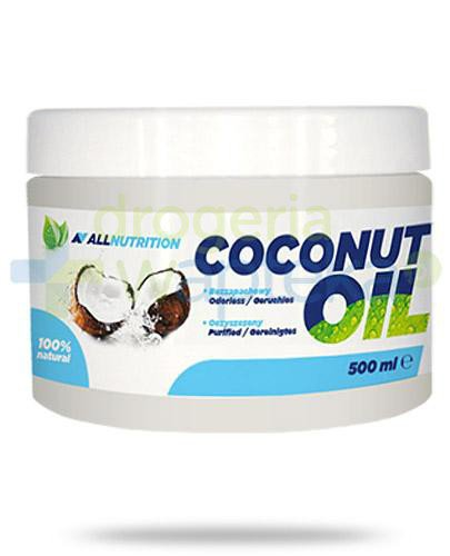 Allnutrition Coconut Oil olej kokosowy rafinowany 500 ml  whited-out