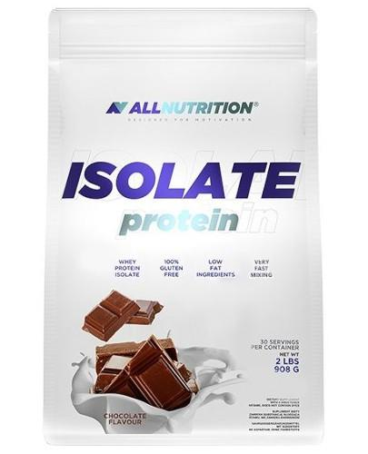 Allnutrition Isolate Protein odżywka białkowa smak czekolada 908 g