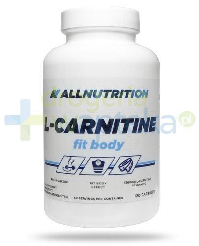 Allnutrition L-carnitine Fit Body 120 kapsułek [DARMOWA DOSTAWA]