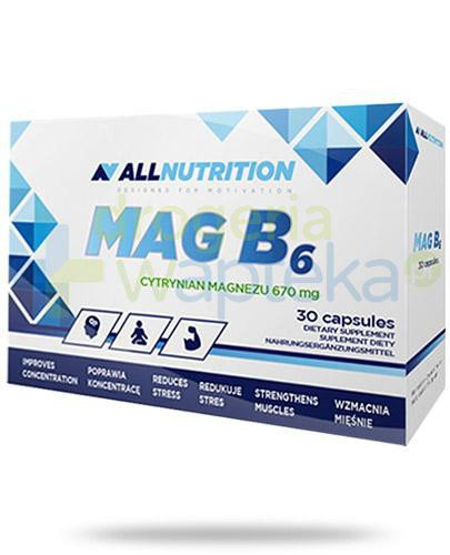 Allnutrition Mag B6 30 kapsułek