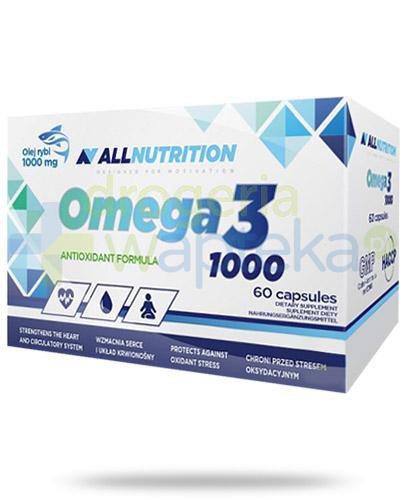 Allnutrition Omega-3 1000 60 kapsułek