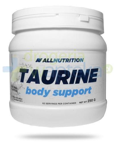 Allnutrition Taurine Body Support tauryna smak naturalny 250 g