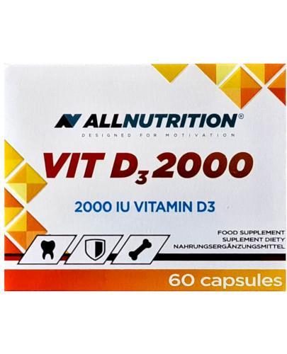 Allnutrition VIT D3 2000 60 kapsułek