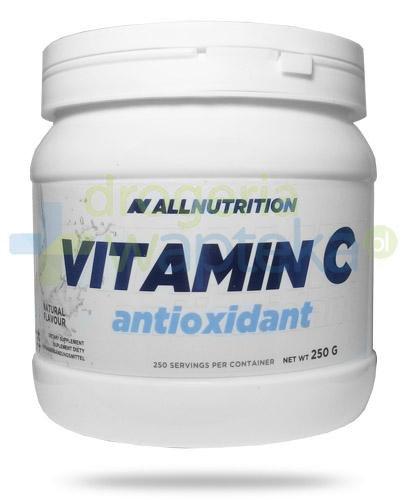 Allnutrition Vitamin C Antioxidant smak naturalny 250 g [Data ważności 31-08-2019]
