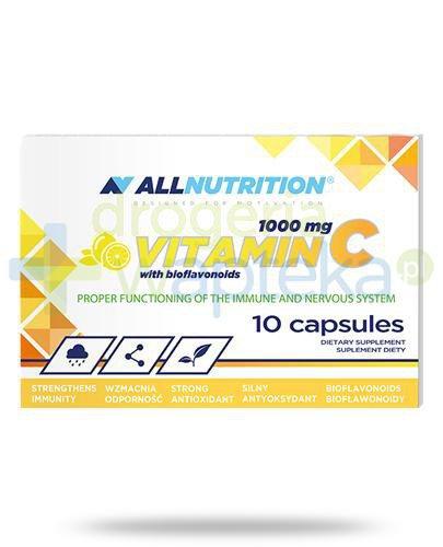 Allnutrition witamina C 1000mg z bioflawonoidami 10 kapsułek