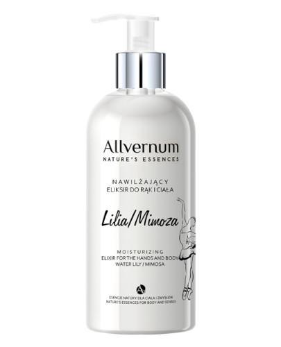Allvernum nawilżający eliksir do rąk i ciała lilia i mimoza 300 ml