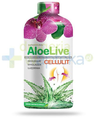 AloeLive Cellulit sok z aloesu 1000 ml  whited-out