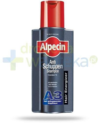 Alpecin A3 szampon aktywny przeciwłupieżowy 250 ml