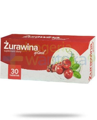 Żurawina Optimal 30 tabletek AlpePharma  whited-out