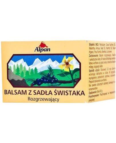 Alpine balsam z sadła świstaka rozgzewający 50 ml