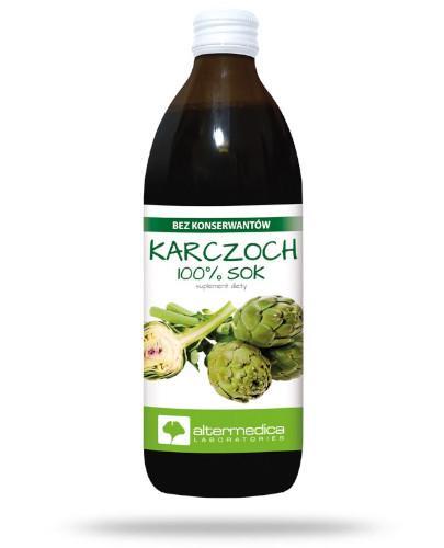 Alter Medica Karczoch sok z karczocha pasteryzowany 500 ml