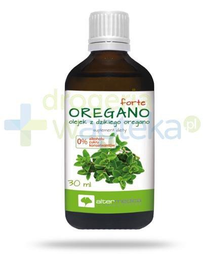 AlterMedica Oregano Forte olejek z dzikiego oregano 30 ml