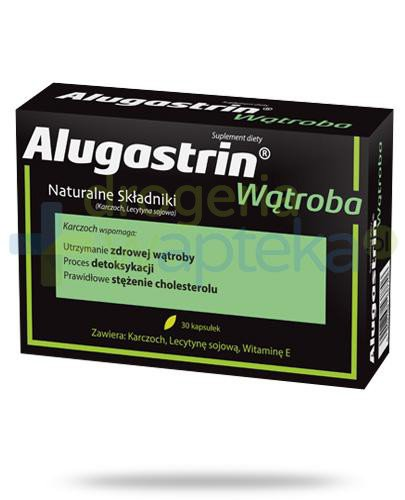 Alugastrin Wątroba 30 kapsułek  whited-out