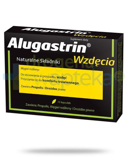 Alugastrin Wzdęcia 15 kapsułek  whited-out