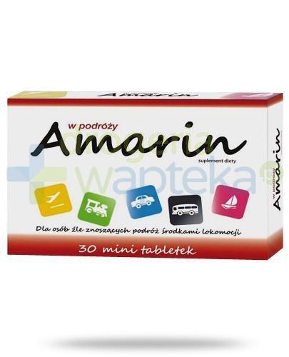 Amarin na mdłości w podróży 30 tabletek  whited-out
