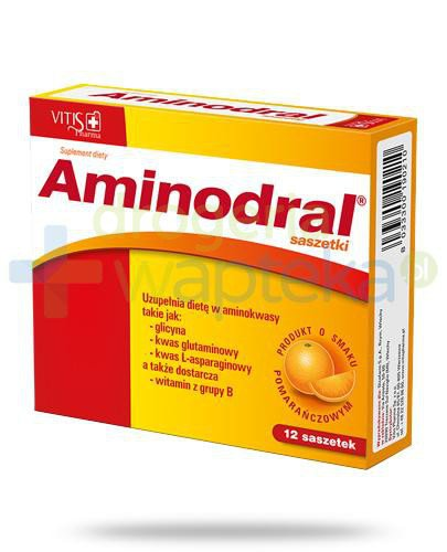 Aminodral 12 saszetek