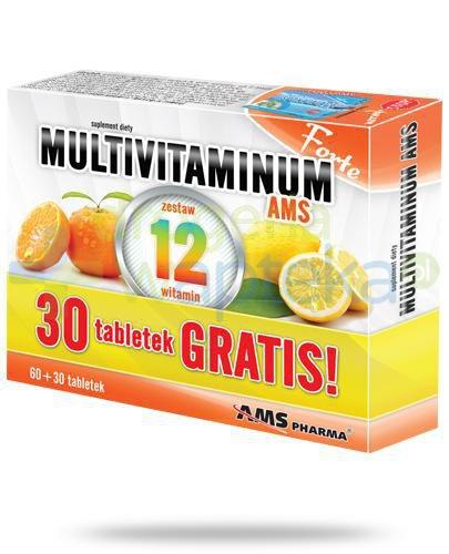AMS Multivitaminum Forte 60 tabletek + 30 tabletek