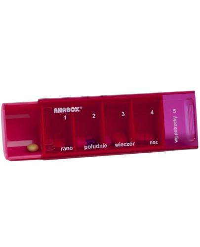 Kasetka dzienna na leki ANABOX Daily Box 1 sztuka