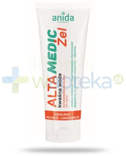 Anida Alta Medic kwaśna woda żel 100 ml  whited-out