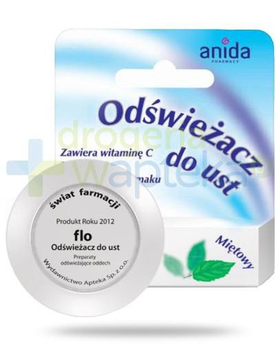 Anida Flo odświeżacz do ust miętowy 5 ml  whited-out