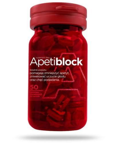 ApetiBlock Na zmniejszenie apetytu 50 tabletek