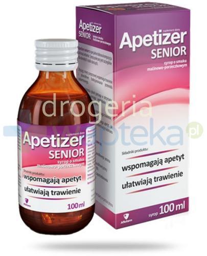 Apetizer Senior Syrop o smaku malinowo-porzeczkowym 100 ml