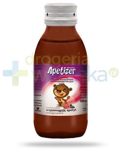 Apetizer syrop o smaku malinowo-porzeczkowym 100 ml