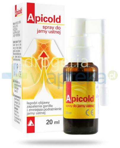 Apicold spray do jamy ustnej 20 ml