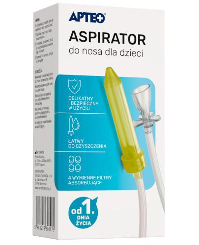 Apteo Care aspirator do nosa dla dzieci 1 sztuka
