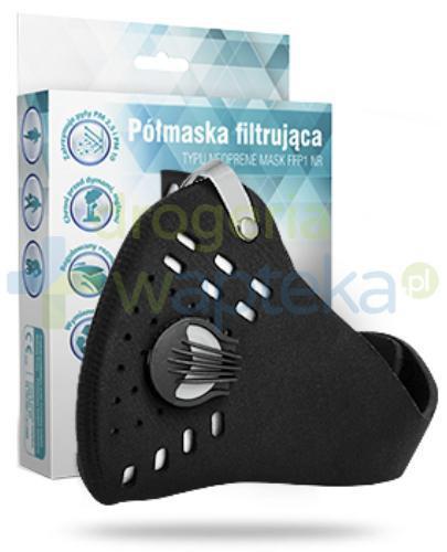 Apteo Care neoprenowa maska antysmogowa + filtr FFP1 NR