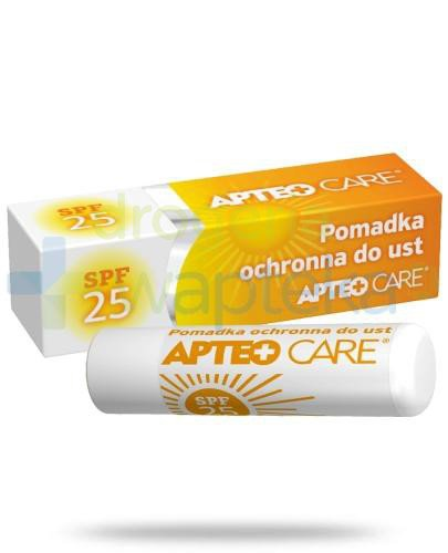 Apteo Care pomadka ochronna do ust SPF 25 3,6 g  whited-out