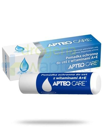 Apteo Care Pomadka ochronna do ust z wit. A + E 3,8 g  whited-out