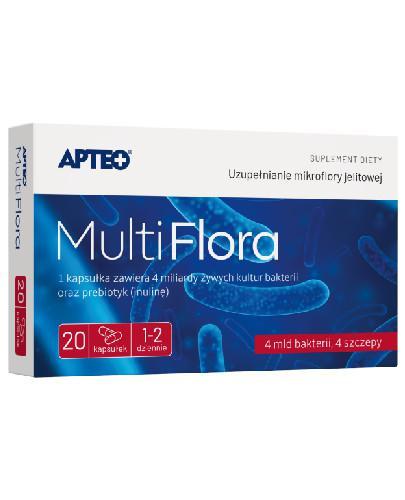 Apteo Multi Flora 20 kapsułek