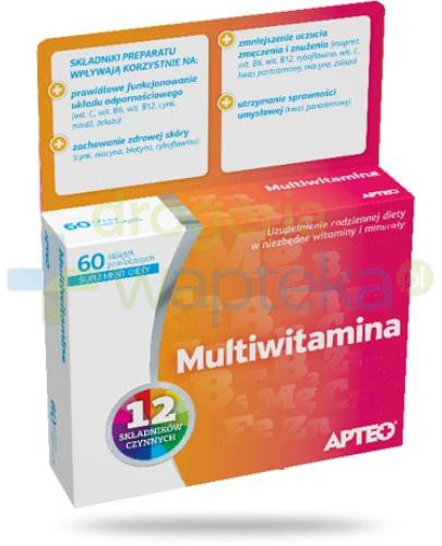 Apteo Multiwitamina 60 tabletek
