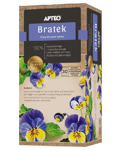 Apteo Natura Bratek zioła do zaparzania 30 saszetek