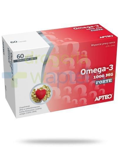 Apteo Omega-3 forte 1000mg 60 kapsułek 13155