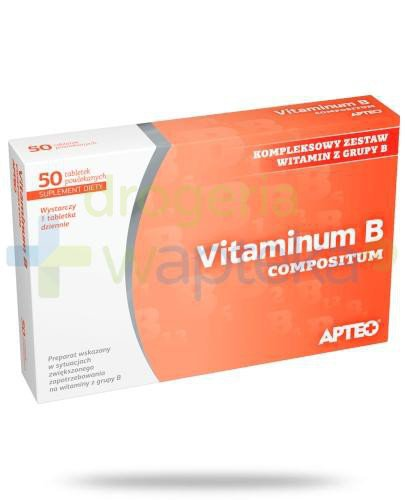 Apteo Vitaminum B compositum tabletki powlekane 50 sztuk