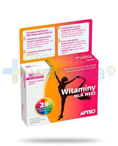Apteo witaminy dla Niej 30 tabletek