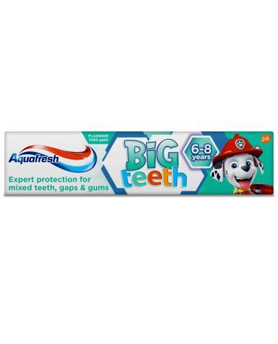 Aquafresh Big Teeth Psi Patrol pasta do zębów dla dzieci 6+ lat 50 ml