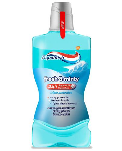 Aquafresh Fresh & Minty płyn do płukania jamy ustnej 500 ml