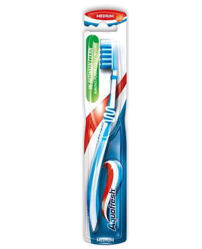 Aquafresh In-Between Clean szczoteczka do zębów medium 1 sztuka