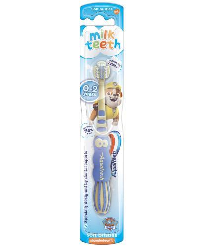 Aquafresh Milk Teeth szczoteczka do zębów dla dzieci 0-2 lat soft 1 sztuka