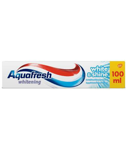 Aquafresh Whitening White&Shine pasta do zębów 100 ml