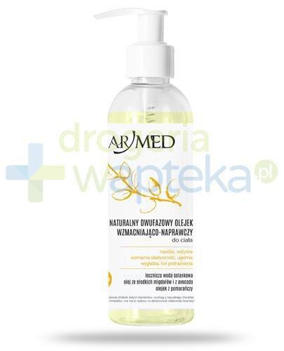ArMed Nature naturalny dwufazowy olejek wzmacniająco naprawczy do ciała 200 ml