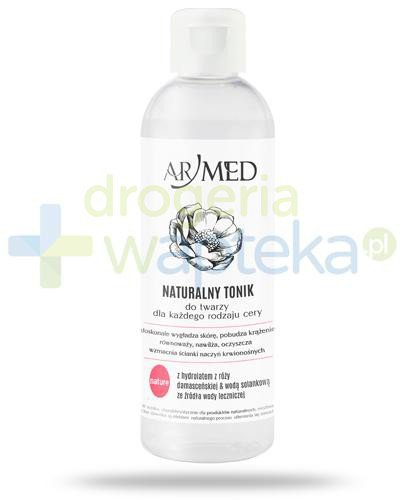 ArMed Nature naturalny tonik do twarzy 200 ml  whited-out